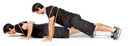 assisted push up