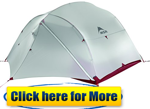 MSR MUTHA HUBBA tent for motocycle camping