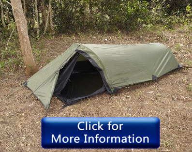 Snugpak Ionosphere 1 Person army tent for camping