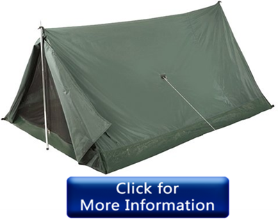 Stansport army tent for camping