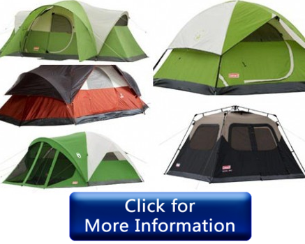 coleman Best Camping Tent Brands in 2016