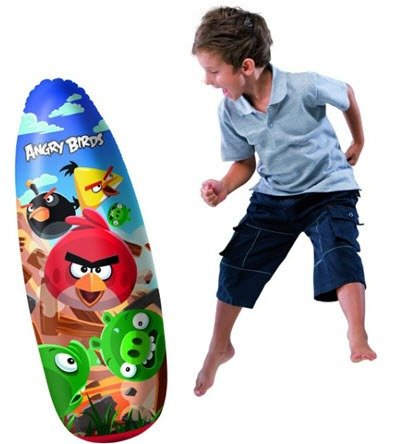 Angry Birds Punching Bag for kids