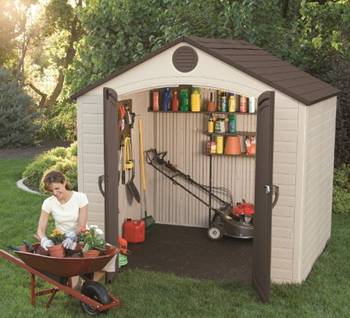 Lifetime 6418 Outdoor Storage Shed