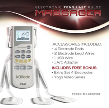 TruMedic TM-1000PRO Electronic Pulse Massager