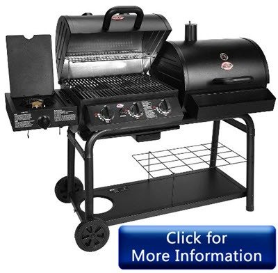 Char-Griller 5050 - Best Gas Charcoal Combo Grill