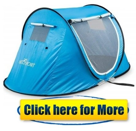 Pop-up Tent an Automatic Instant Portable Cabana Beach Tent