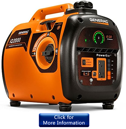 Generac 6866 iQ2000 inverter generator