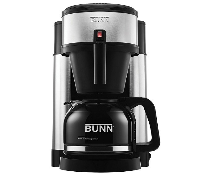 BUNN NHS Velocity Brew 10-Cup Home Coffee Brewer under 100