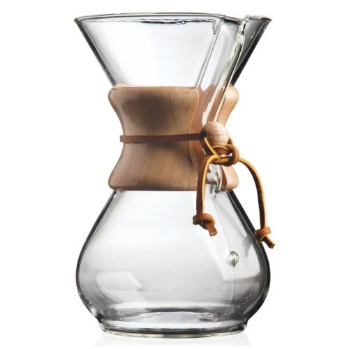 Chemex 6-Cup Classic Series Glass Coffee Maker under 50