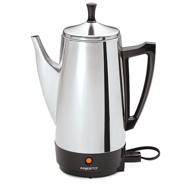 Presto 02811 12- Cup Stainless Steel Coffee Maker under 50