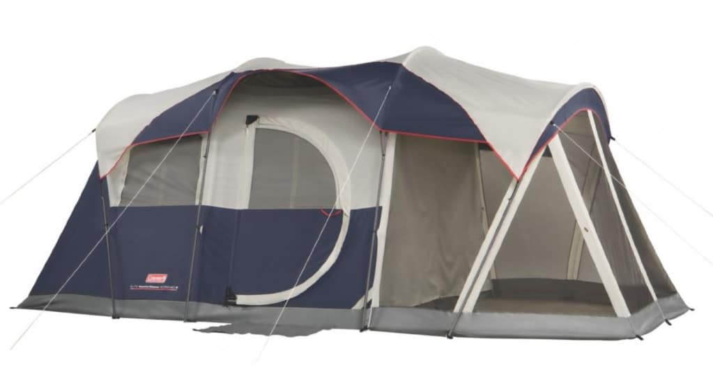Coleman Elite WeatherMaster 6 Person Luxury High-End Tent