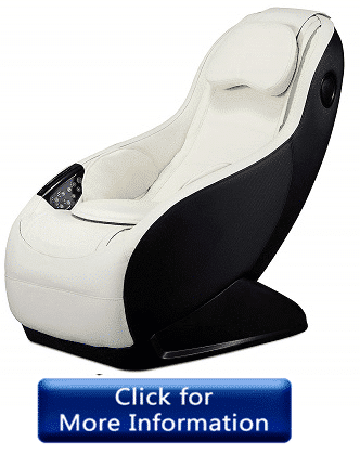 Curved Long Rail Shiatsu Massage Chair by BestMassage