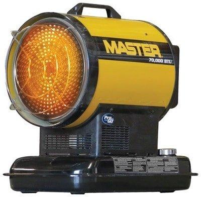 Master MH-70-SS-A Radiant Kerosene Heater