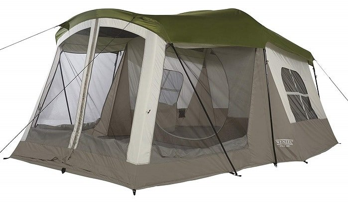 Wenzel 8 Person Klondike High End Camping Tent