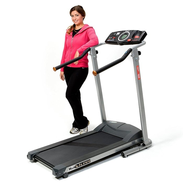 Exerpeutic TF900 High Capacity Fitness Walking Electric Treadmill