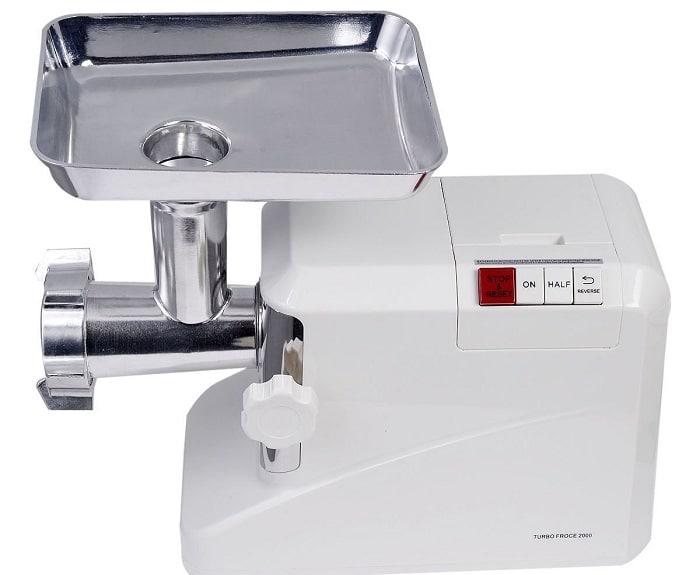 Ginatex 2000 Watt Meat Grinder Electric 2.6 Hp Industrial Meat Grinder