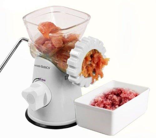 Kitchen Basics 3-In-1 Meat Grinder & Vegetable Grinder
