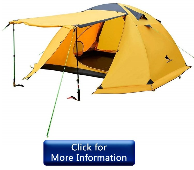 GEERTOP Portable 4 Person 4 Seasons Backpacking Tent review