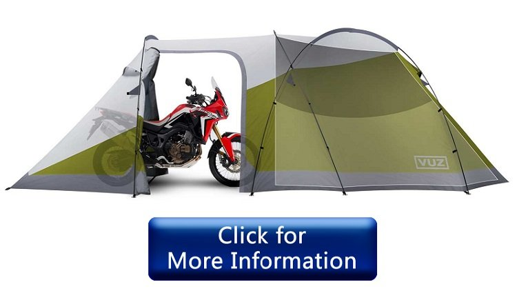 VUZ Moto 12-Foot Waterproof Motorcycle Tent Review