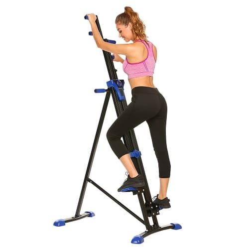 ANCHEER Vertical Climber Folding Exercise Climbing Machine