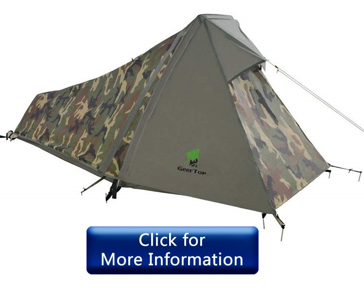 GEERTOP Portable Lightweight 1 Person Tent Review