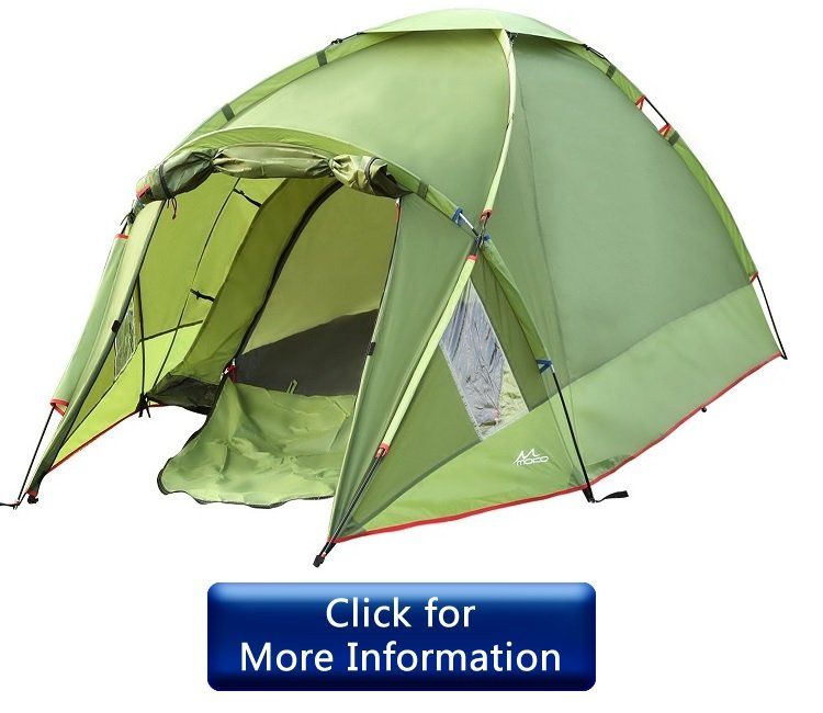 MoKo Waterproof Family Camping Tent Review