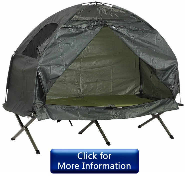 Outsunny 1 Person Compact Pop Up Portable Folding Tent Review