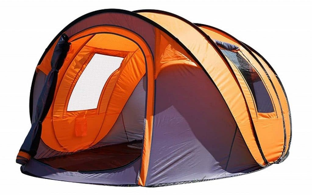 Oileus Pop up Tents Camping 4 to 6 Person Tent Sky-Window