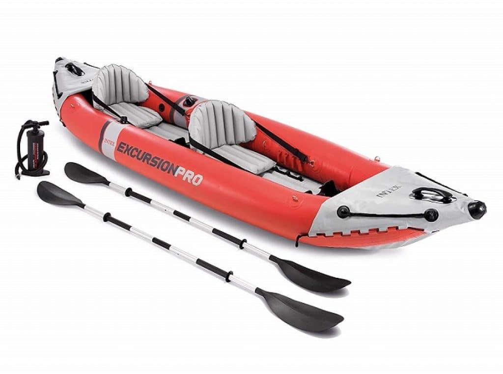 Intex Excursion Pro Kayak Professional Series Inflatable Fishing Kayak